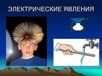 """Физика.  Астрономия.  Химия """"Физика. Электрические явления"""""""