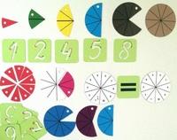 Наборы магнитных карточек Магнитная математика