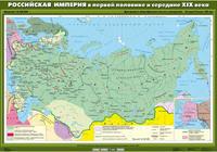 8 класс Комплект настенных учебных карт. История России. 8 класс