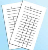 Бланки Книжный формуляр (упаковка 1000 шт.)