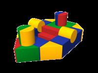 Мягкие игровые комплексы и модули Теплоход