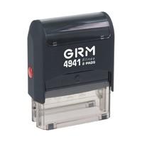 Штампы прямоугольные Штамп прямоугольный GRM 4941 45*24 оснастка для штампа