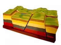 Коллекции,  модели Модель Сдвиги земной коры