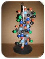 Модели из пластмассы Структура белка