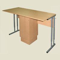 Лабораторная мебель Стол ученический лабораторный с тумбой