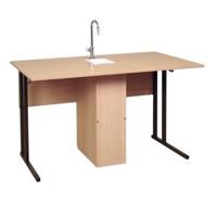 Лабораторная мебель Стол ученический лабораторный с сантехникой