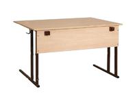 Лабораторная мебель Стол лабораторный двухместный с 2 розетками