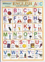 Английский язык Раздаточная таблица Английский в картинках Часть 20. Алфавит