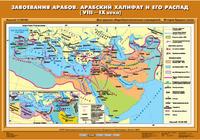 6 класс Завоевания арабов. Арабский халифат и его распад (VIII-IX вв.)