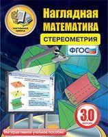 Электронные пособия по математике Интерактивное наглядное пособие Наглядная математика. Стереометрия