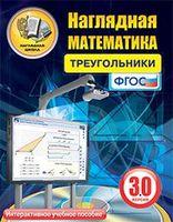 Электронные пособия по математике Интерактивное наглядное пособие Наглядная математика. Треугольники