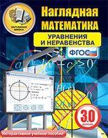 Электронные пособия по математике Интерактивное наглядное пособие Наглядная математика. Уравнения и неравенства