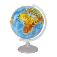 Рельефные и Ландшафтные глобусы ФИЗИЧЕСКИЙ РЕЛЬЕФНЫЙ ГЛОБУС ДИАМЕТРОМ 250 ММ