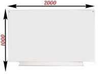1-элементные Доска школьная магнитно-маркерная белая ДА-20 (б) маркер