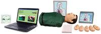 """Учебные тренажеры Т2К """"Максим III"""" тренажер сердечно-легочной и мозговой реанимации, c обучающей компьютерной интерактивной программой и отображением всех действий на экране компьютера и пульте контроля-управления - торс"""