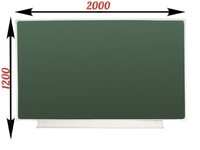 1-элементные Доска школьная магнитно-меловая зеленая ДА-21(з) мел