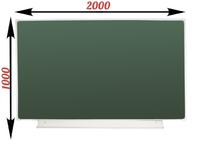 1-элементные Доска школьная магнитно-меловая зеленая ДА-20 (з) мел