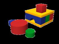 Мягкие игровые комплексы и модули Печка