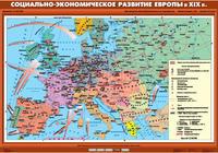 8 класс Социально-экономическое развитие Европы в XIX в.