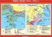 9 класс Индия и Китай в 20-е - 30-е годы XX века (Индия в 1919 - 1939 гг. / Революция и Гражданская война в Китае 1924 - 1927 гг.)