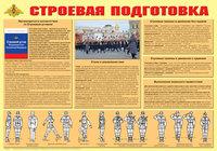 Плакаты Плакат Строевая подготовка, формат А2
