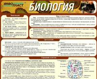 Раздаточные пособия Биология ч.1