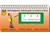 Математика Перекидное табло для устного счета