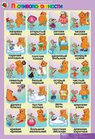 """Демонстрационные таблицы  Комплект таблиц. Развитие речи 4-5 лет. """"Такие разные слова""""."""
