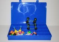 Модели Комплект моделей атомов для составления молекул со стержнями (демонстрационный)