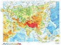 10 класс Центральная и Восточная Азия. Социально-экономическая карта