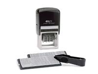 Штампы прямоугольные Датер автоматический Colop Printer 55-Dater-Set, 6 строк, самонаборный, пластиковый