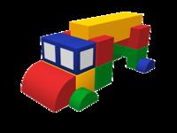 Мягкие игровые комплексы и модули Лесовоз