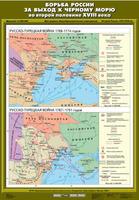 7 класс Борьба России за выход к Черному морю во второй половине ХVIII века (Русско-турецкая война 1768 - 1774 гг./ Русско-турецкая война 1787 - 1791 гг.)