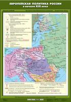 8 класс Европейская политика России в начале ХIХ века