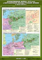 8 класс Отечественная война 1812 г. и заграничный поход русской армии в 1813 - 1814 гг. (Вторжение армии Наполеона в Россию / Победа русской армии над Наполеоном)