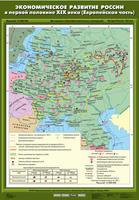 8 класс Экономическое развитие России в первой половине XIX в (Европейская часть)