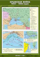 8 класс Карта Крымская война 1853-1856 гг.