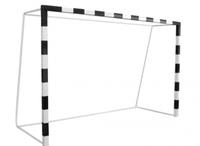 Футбол Ворота минифутбольные (гандбольные) передвижные, на  шпильке,складные, металлические,игровые. (80х80 мм)