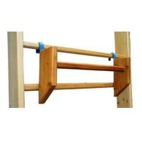 Оборудование и инвентарь для гимнастики и легкой атлетики Перекладина навесная для стенки гимнастической (деревянная)