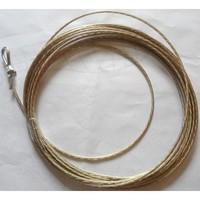 Оборудование общее Трос с устройством натяжения для сетки волейбола,  бадминтона, тенниса (талреп)