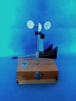 Оборудование для лабораторных работ Анемометр (прибор для демонстрации измерения силы ветра)