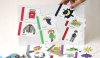 """Наборы магнитных карточек Набор магнитных карточек """"Английский алфавит"""" (дополнительный комплект)"""