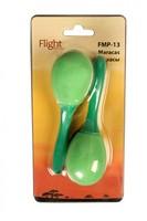 Детские музыкальные инструменты Маракасы пластиковые FLIGHT FMP-13