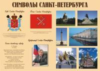 Стенды для детского сада Символы Санкт-Петербурга