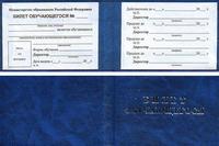 Удостоверяющие документы Билет обучающегося