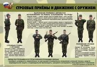 Плакаты Плакаты «Строевая подготовка» (10шт)