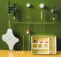Механика Набор по статике с магнитными держателями