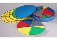 Модели Набор Части целого на круге. Простые дроби (15 шт., большой)