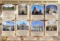 """Общеобразовательные учреждения Стенд """"Церкви Санкт-Петербурга"""""""