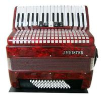 Клавишные АККОРДЕОН 3/4 J.MEISTER JM3472/RD